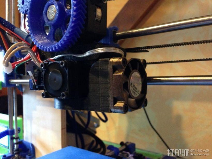 Prusa i3打印机的风扇 3D模型  图6