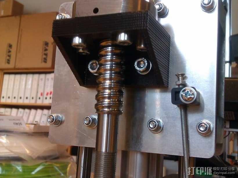 K8200滚珠螺杆支架 3D模型  图1
