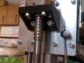 K8200滚珠螺杆支架 3D模型