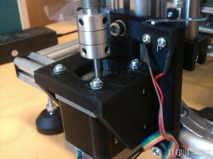 K8200滚珠螺杆支架 3D模型  图3