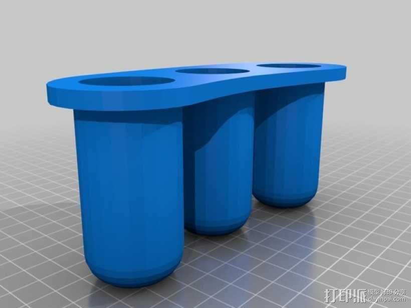 笔架· 3D模型  图1