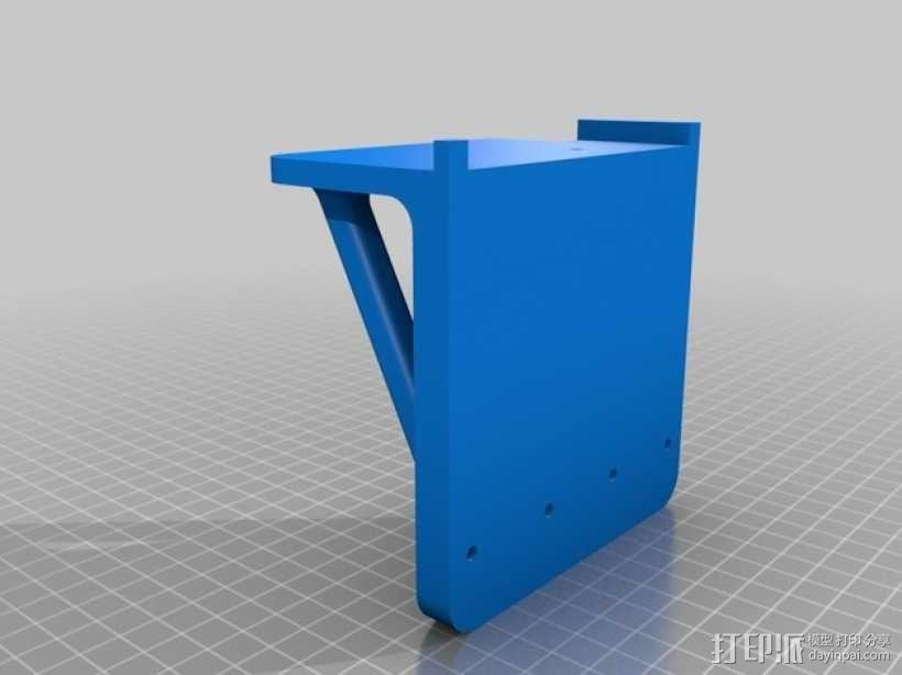 Printrbot Simple打印机底垫 3D模型  图4