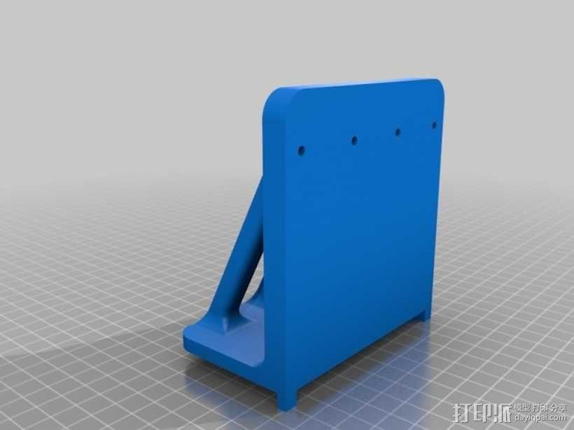 Printrbot Simple打印机底垫 3D模型  图5