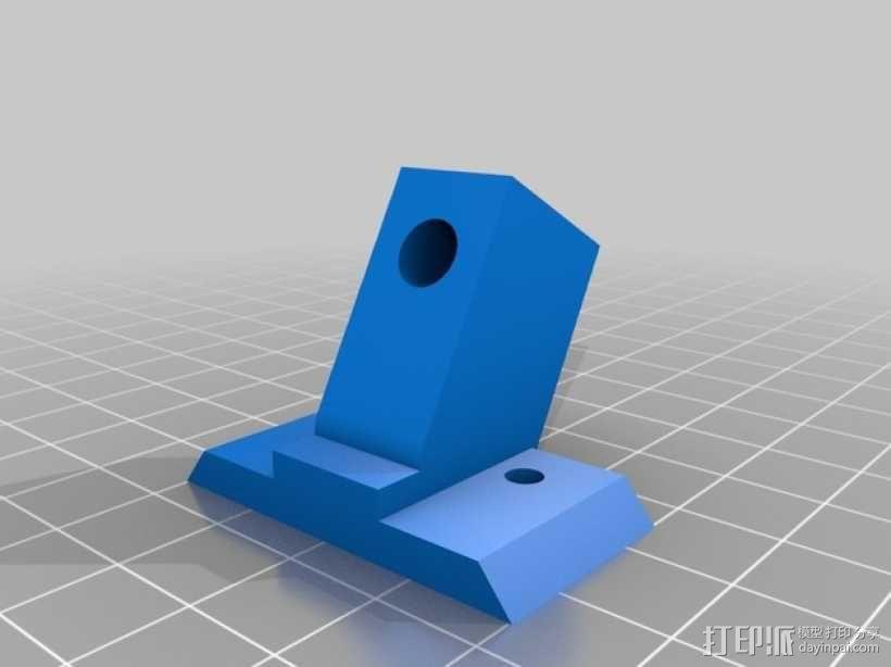 prusa i3打印机Z轴的稳定器 3D模型  图1