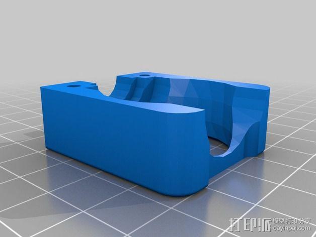 E3D喷头风扇 3D模型  图2