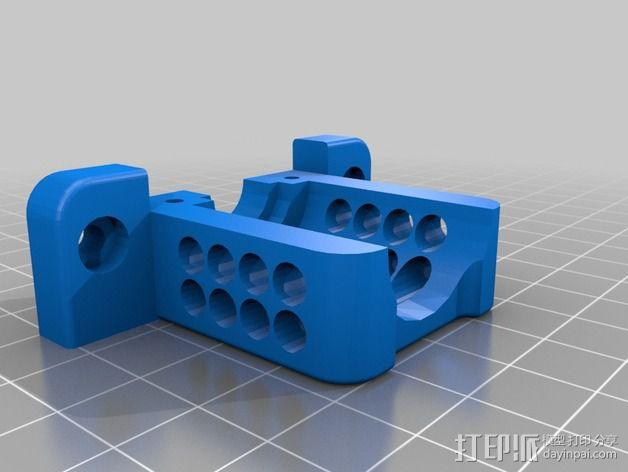 E3D喷头风扇 3D模型  图3