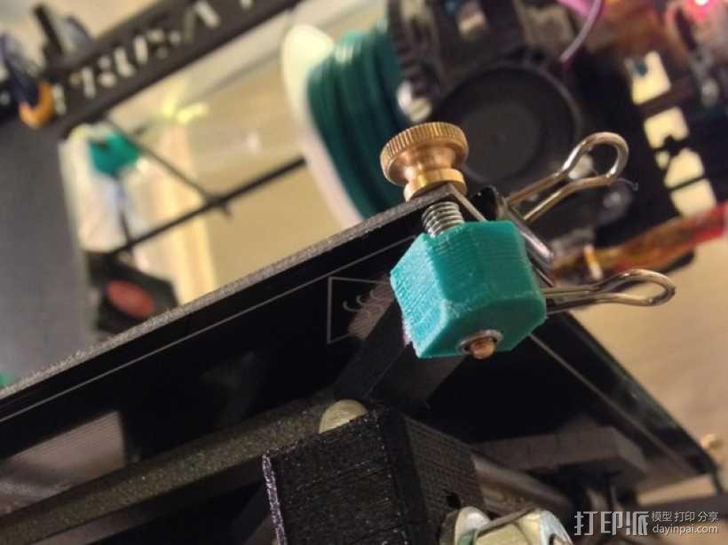 Prusa i3 y轴螺母支架 3D模型  图8