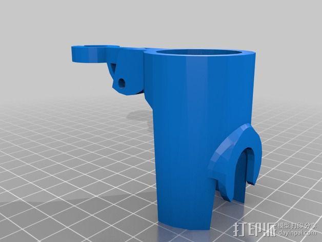 打印机的摄像头支架 3D模型  图2