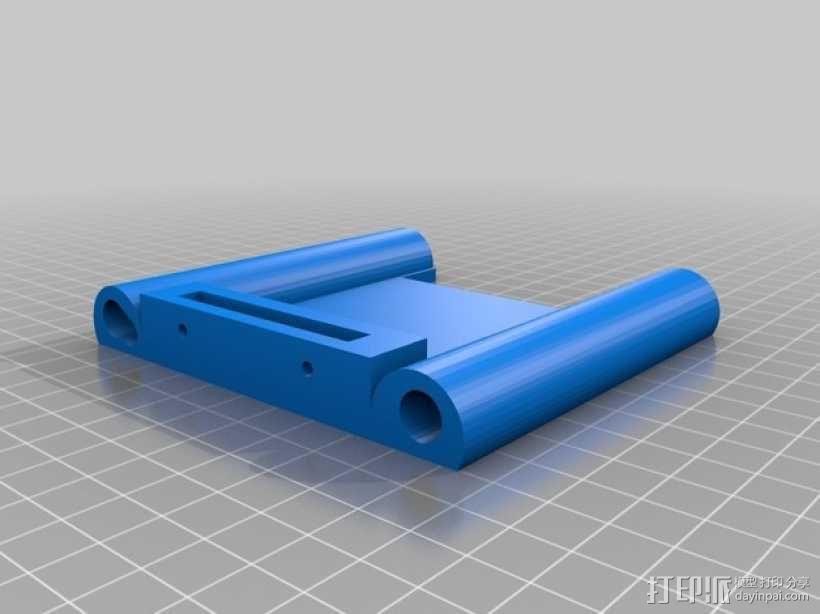 打印机的背景幕 3D模型  图14