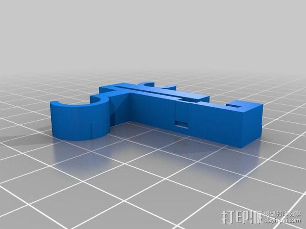 Prusa i3 Y轴的限位开关 3D模型  图2