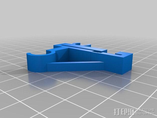 Prusa i3 Y轴的限位开关 3D模型  图3