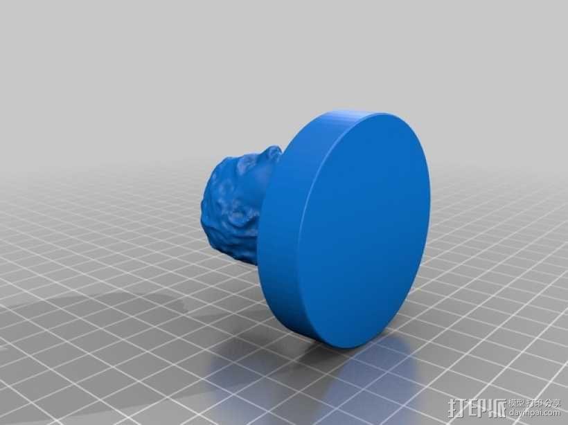 人物雕塑 3D模型  图2