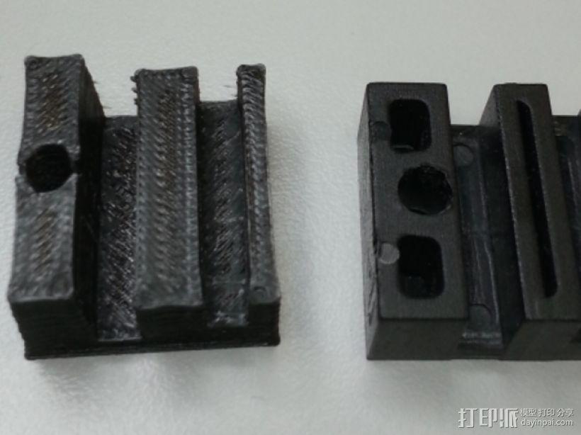 3Drag/K8200打印机弹性材料打印测试 3D模型  图8