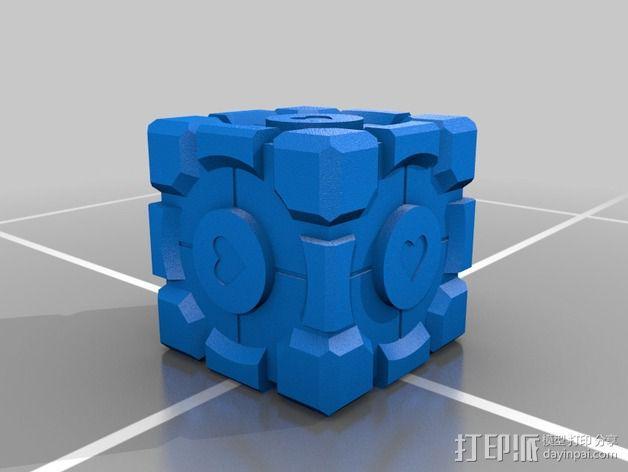传送门方块 3D模型  图2