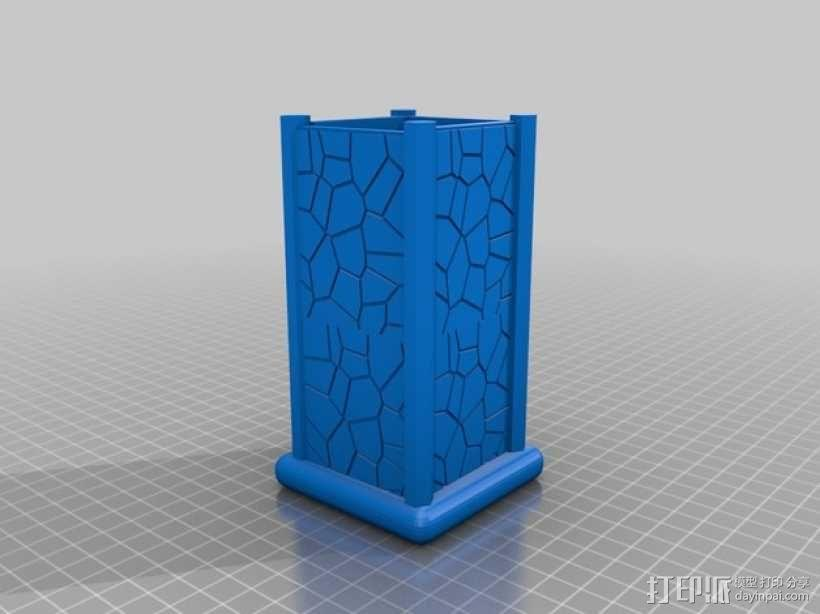 笔筒 笔架 3D模型  图1