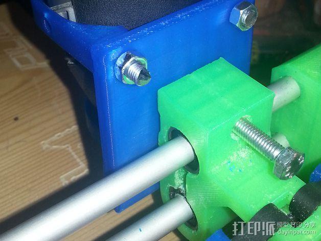 达美电摩支架 3D模型  图5
