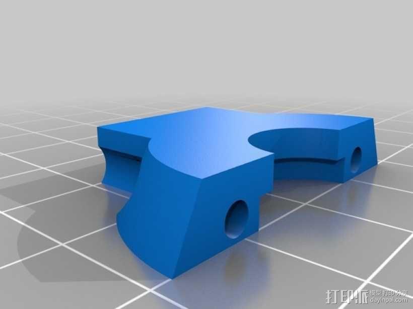 Mini Kossel 打印机的效应器 3D模型  图4