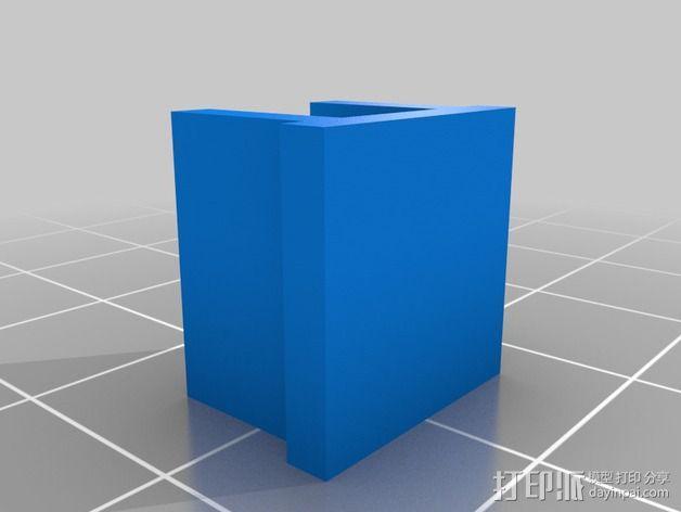 makerfarm prusa i3打印机的阻尼器 3D模型  图2