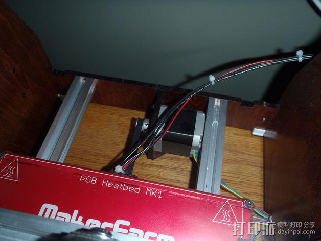 makerfarm prusa i3打印机的阻尼器 3D模型  图4