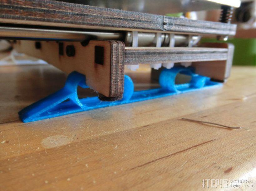 Printrbot打印机的防震动阻尼器 3D模型  图1