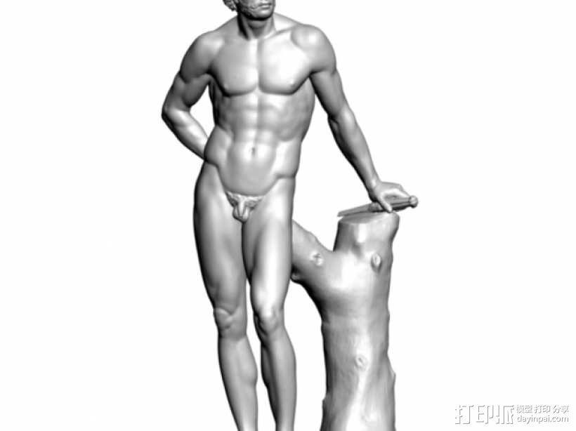 Mars雕塑模型 3D模型  图1
