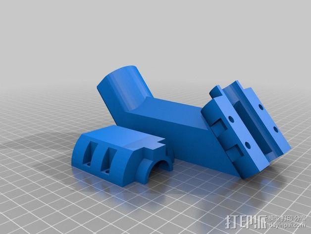 料斗进料器 3D模型  图1