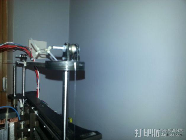 QU-BD Two-Up 打印机的滑轮 3D模型  图9