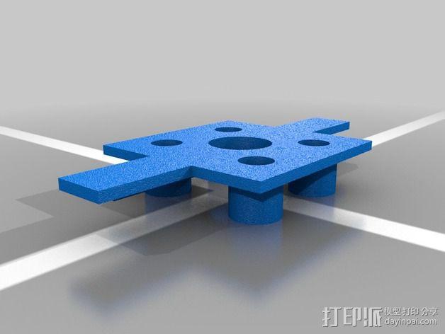 led 灯支架 3D模型  图3