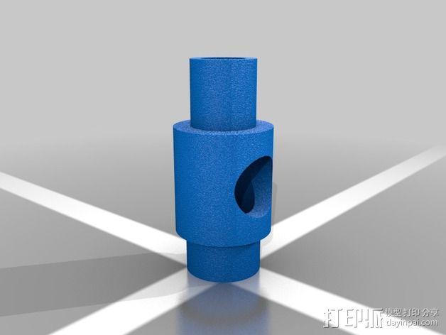 led 灯支架 3D模型  图2