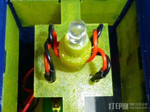 led 灯支架 3D模型  图5