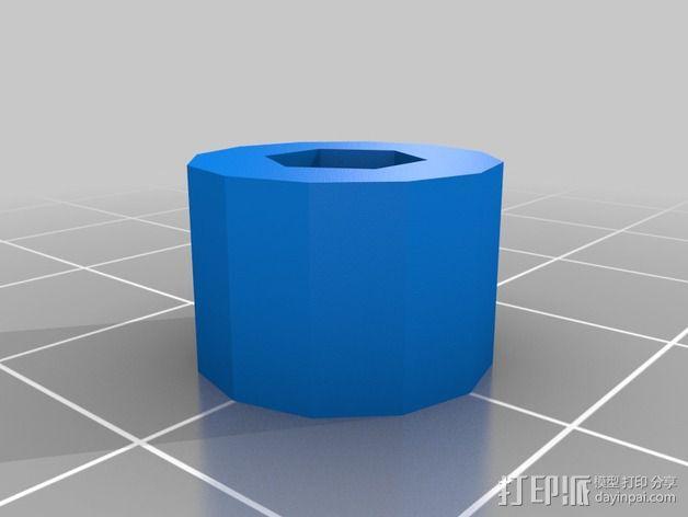 Prusa I3打印机的限位开关 3D模型  图2