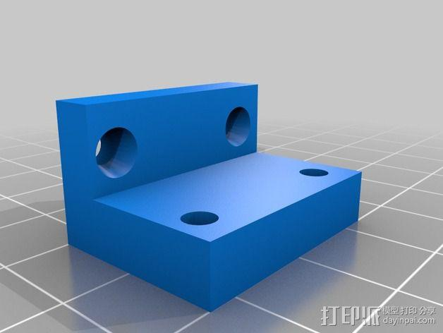 Prusa I3打印机的限位开关 3D模型  图3