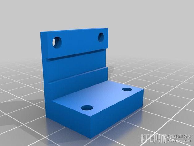 Prusa I3打印机的限位开关 3D模型  图4