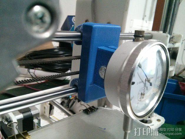 刻度盘指示器支撑架 3D模型  图1