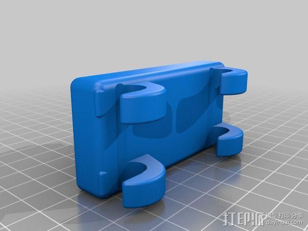 刻度盘指示器支撑架 3D模型  图2