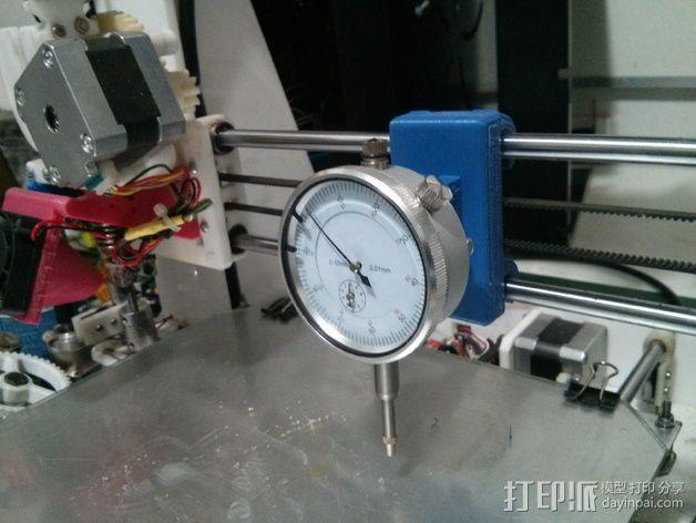 刻度盘指示器支撑架 3D模型  图4