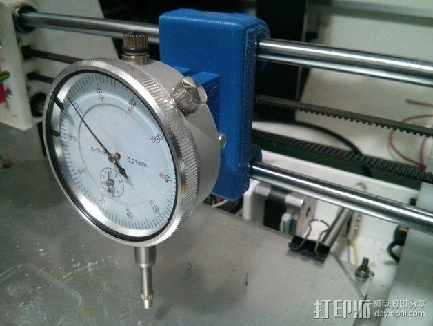 刻度盘指示器支撑架 3D模型  图3