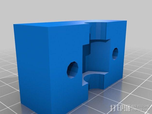 六角螺母固定器 3D模型  图2