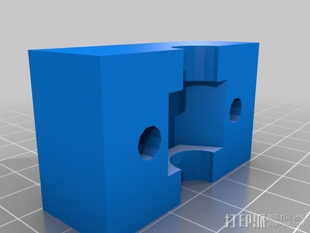 六角螺母固定器 3D模型  图3