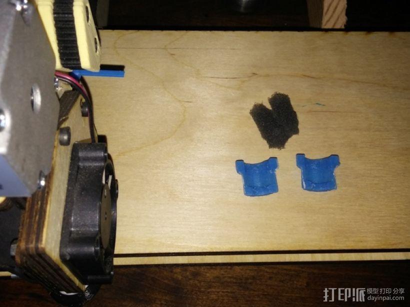 导线器 线材滤尘器 3D模型  图4