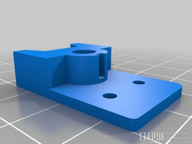 Prusa i3v适配器 3D模型  图1
