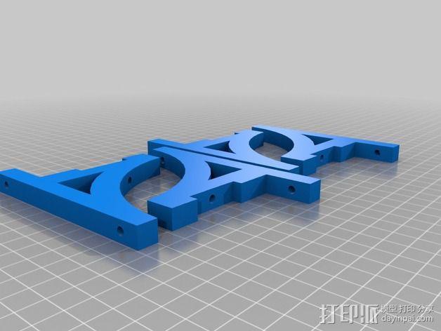铁路配件 3D模型  图2