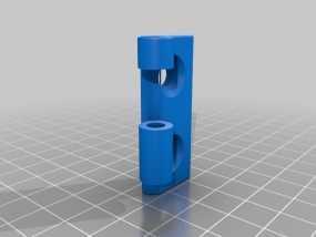 铰链 20mm 3D模型