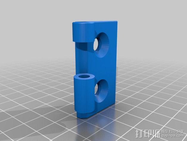 铰链 20mm 3D模型  图2