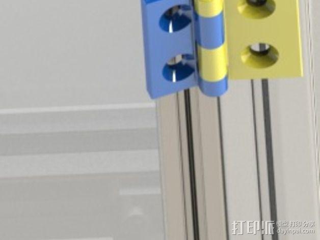 铰链 20mm 3D模型  图3