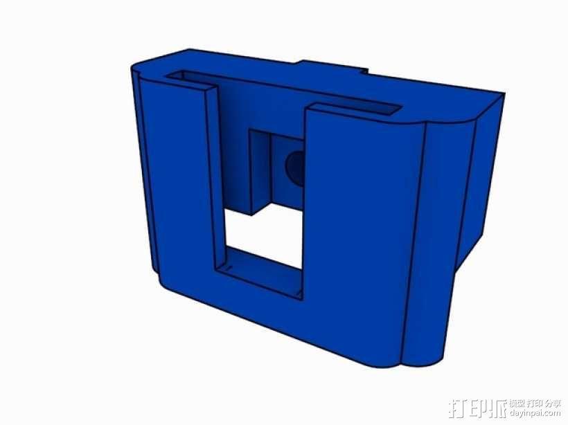 SD卡存储器 3D模型  图1