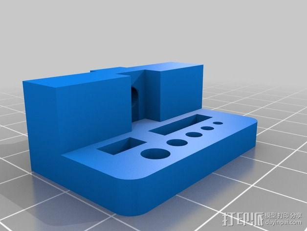 打印机支撑配件 3D模型  图2