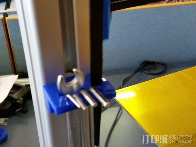 打印机支撑配件 3D模型  图3