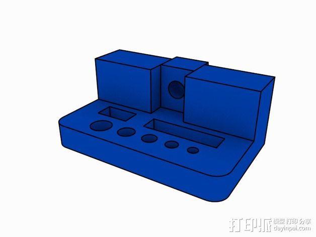 打印机支撑配件 3D模型  图1