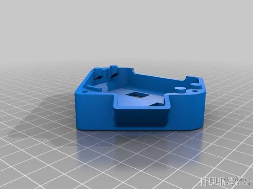单框架 3D模型  图1